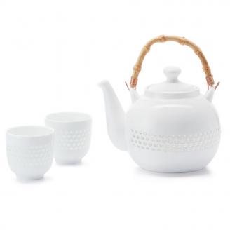 Conjunto de Chá Branco
